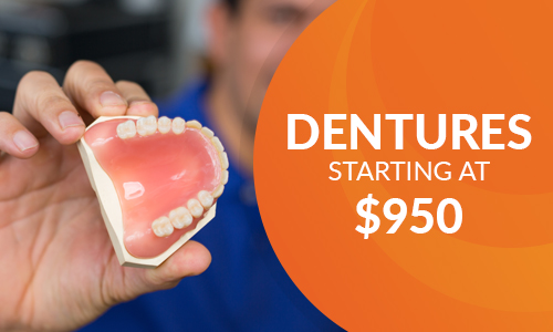 Royalty Promo Dentures